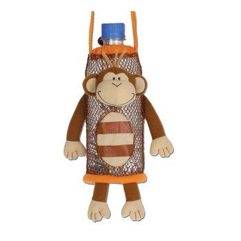 【Stephen Joseph】兒童造型水壺袋-快樂小猴-行動