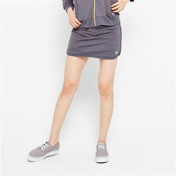 TOP GIRL氣質女伶剪接設計短褲裙 - 共兩色