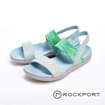 【Rockport】繽紛涼夏款 休閒涼拖鞋 女鞋-藍(粉、紫)