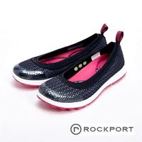 【Rockport】WALK360系列 針織透氣休閒女鞋-黑