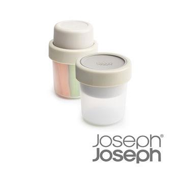 《Joseph Joseph英國創意餐廚》翻轉點心盒(灰)-81026