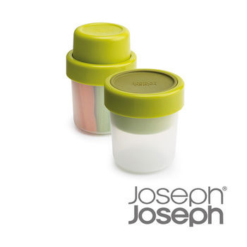 《Joseph Joseph英國創意餐廚》翻轉點心盒(綠)-81025