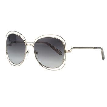 CHLOE太陽眼鏡 金屬造型(金色)CE119S