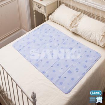 日本三貴SANKi 雪花固態凝膠冰涼床墊1床