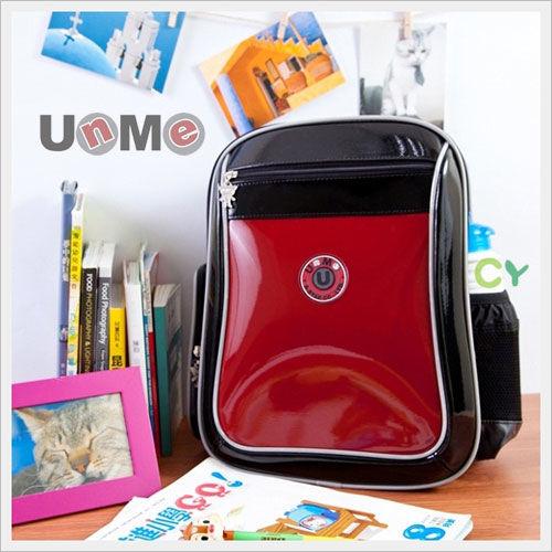 【UnMe】人體工學後背書包(鏡紅色)