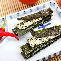 【昕秝】辣味海苔杏仁脆片(5包入/無盒)