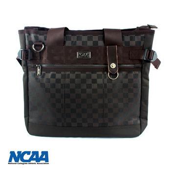 NCAA 時尚格子手提/側背兩用包 共三色可選