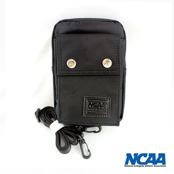 NCAA 防潑水三用途側背包(中)-黑色