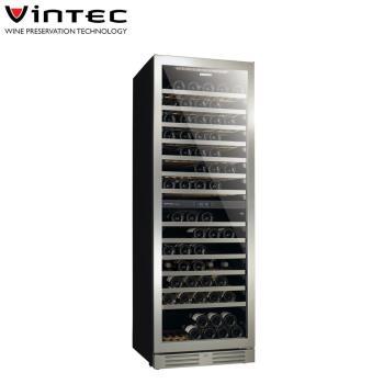 VINTEC 單門雙溫恆溫酒櫃Seamless Stainless Steel V155SG2e S3