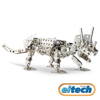 【德國eitech】益智鋼鐵玩具-三角龍 C96