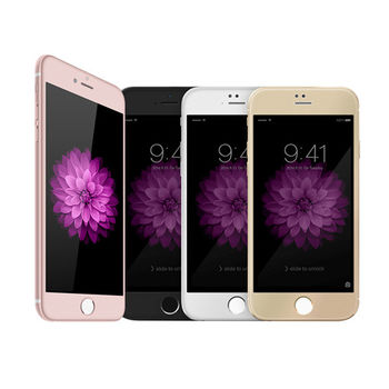 【DEVIA】Apple iPhone 6/6S 臻系列玻璃貼(霧邊)