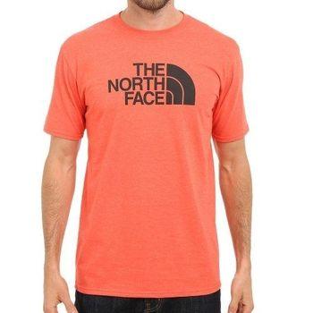 【The North Face】2016男經典標誌龐貝紅圓領短袖ㄒ恤(預購)