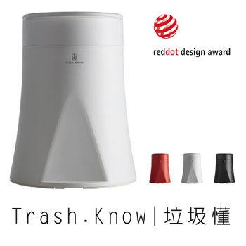 ★紅點設計組合★ 抽取式垃圾桶+傾倒式馬桶刷