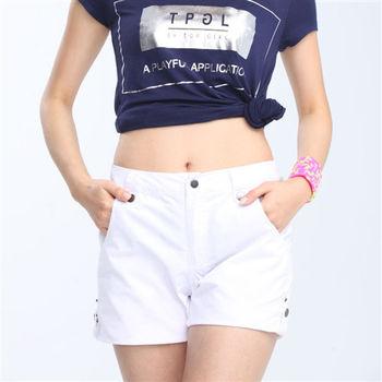 【TOP GIRL】休閒時尚短褲-白