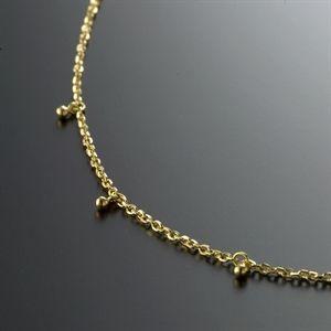D.M.金珠黃金手鍊