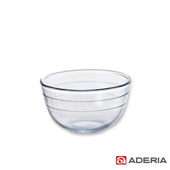 【ADERIA】日本進口耐熱玻璃沙拉碗(小)