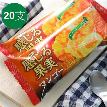 【一等鮮】日本進口明治脆皮芒果冰心雪糕20支