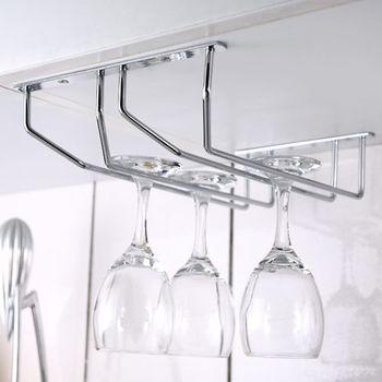《舒適屋》不鏽鋼雙列高腳杯架/紅酒杯架
