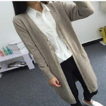 [協賀]鬆顯瘦純色針織衫