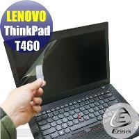 【EZstick】Lenovo ThinkPad T460 系列專用 靜電式筆電LCD液晶螢幕貼 (可選鏡面或霧面)