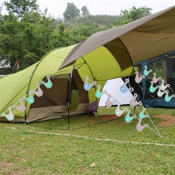 OMAX露營掛繩警示燈20入
