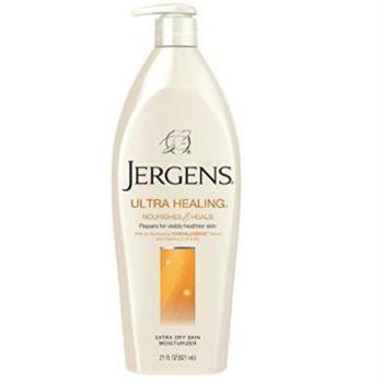 美國原裝Jergens潤膚乳液(特乾肌膚專用)(21oz./621ml)*3