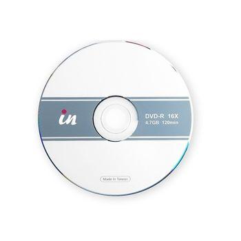 in DVD-R空白燒錄片 16X  4.7GB 120mIn/20片裝