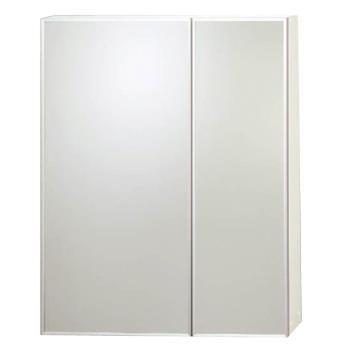 【Aberdeen】對開鋁框邊浴室收納鏡櫃