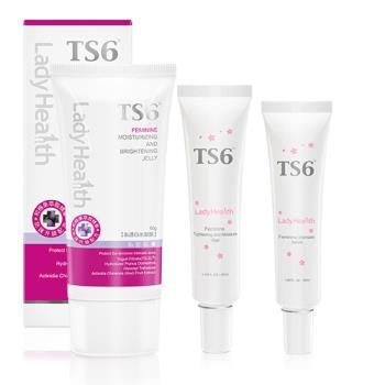 TS6護一生 高效系-緊嫩凝膜組(私透白水凝膜+緊彈水嫩凝膠+粉嫩淡色凝膠)