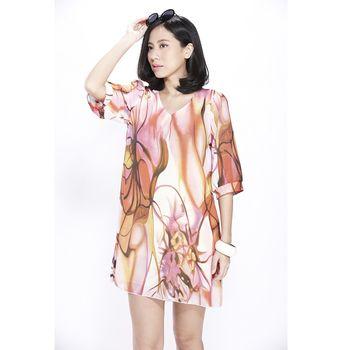 日本Impress外銷訂製款蠶翼雪紡洋裝(4入)