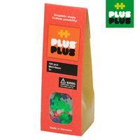 【BabyTiger虎兒寶】++Plus-Plus 加加積木 - Mini 小顆粒-霓虹系列 100 pcs (袋裝)