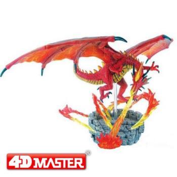【4D MASTER】恐龍模型系列-造景熾火龍 26846