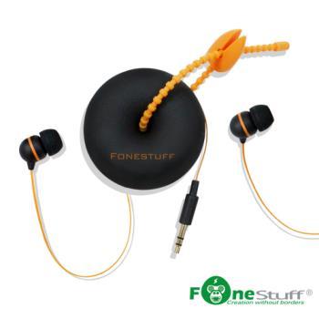 Fonestuff瘋金剛 FS6002收線式耳道耳機(二入組)