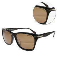 【ALAIN DELON 亞蘭德倫】偏光方形茶色琥珀框太陽眼鏡(ADD5538-C539)
