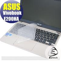 【EZstick】ASUS Vivobook E200HA 系列 奈米銀抗菌 TPU 鍵盤保護膜