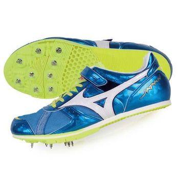 【MIZUNO】FIELD GEO LJ JAPAN男日製田徑釘鞋-競賽 寶藍白