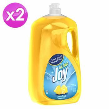 美國JOY檸檬濃縮洗碗精 (90oz/2.66L) 2入組-行動