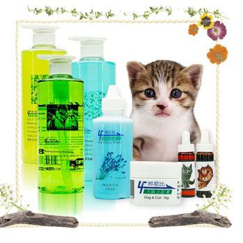 【來福】洗毛精+清耳水+止血膏/口服液 貓用(清耳水+洗毛精任選+寵物用品貓用任選)