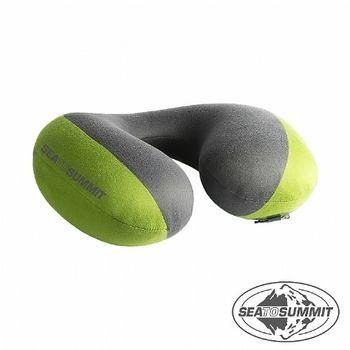 SEATOSUMMIT 50D輕便U型充氣頸枕(綠色)