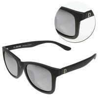 【ALAIN DELON 亞蘭德倫】偏光水銀灰色霧黑太陽眼鏡(AD20337S-B2)