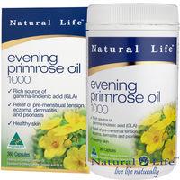 澳洲Natural Life高單位月見草油1000mg(360顆)