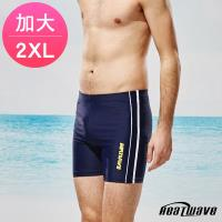 Heatwave熱浪 加大男泳褲 五分褲-海洋線326