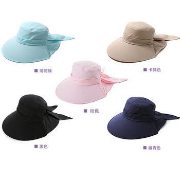 【Lovis 拉維斯】涼感護頸可折防曬帽-A款