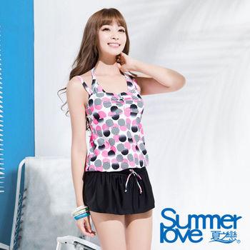 【SUMMERLOVE夏之戀】俏皮點點連身裙三件式泳衣(S16724)