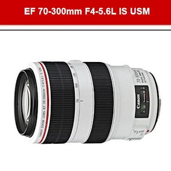 『贈UV好禮組』【Canon】EF 70-300mm F4-5.6L IS USM (公司貨) 11/12前回函送5千元郵政禮券