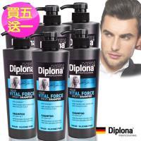 【德國Diplona沙龍級】機能活力洗髮精600ml(買五送一超值組)