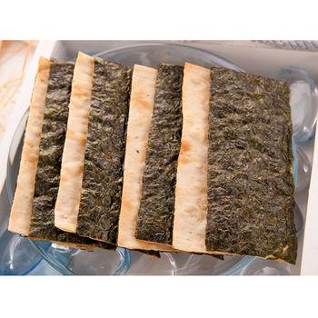 【大田海洋】鱈魚海苔脆片家庭組10入裝(非油炸)
