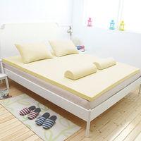 [輕鬆睡-EzTek]全平面竹炭感溫釋壓記憶床墊{單人3cm}繽紛多彩2色