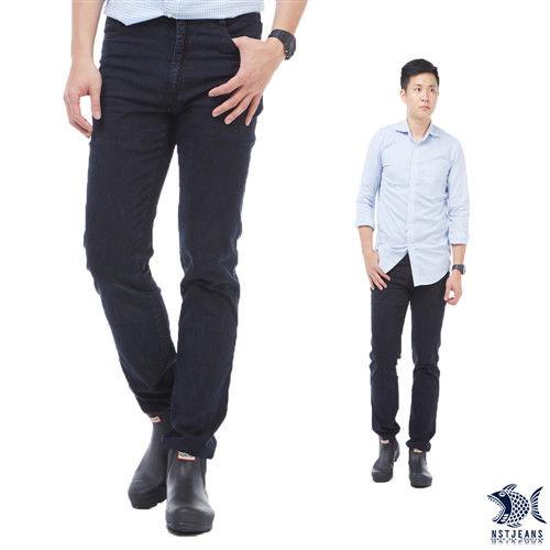 【NST Jeans】385(6869) MUJI質感暖男 夏季萊卡牛仔褲(中低腰窄版)