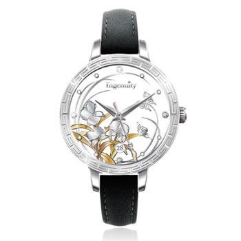 Ingenuity與時間的約定~十二月花神系列腕錶-八月野薑花